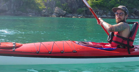 Komodo Kayaking Inside this UNESCO park