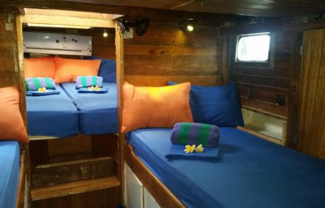 Best Komodo Liveaboard sleeping