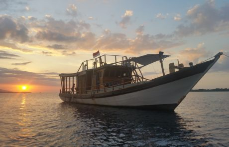 Best Komodo Liveaboard Sunset